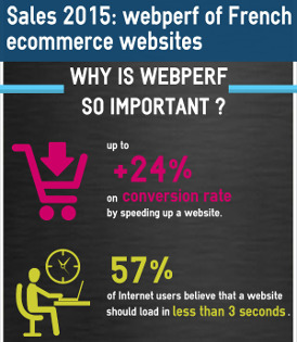 sales 2015 : webperf of french ecommerce websites