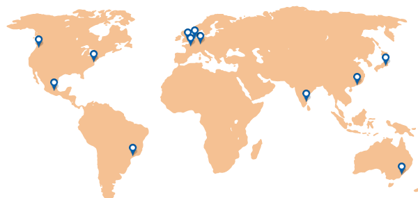 Dareboost Locations map