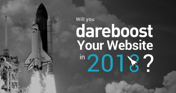 Will you dareboost your website in 2018 ?