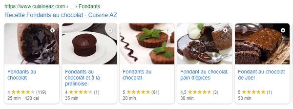 cuisineaz carousel