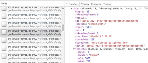 test-my-website API WPT